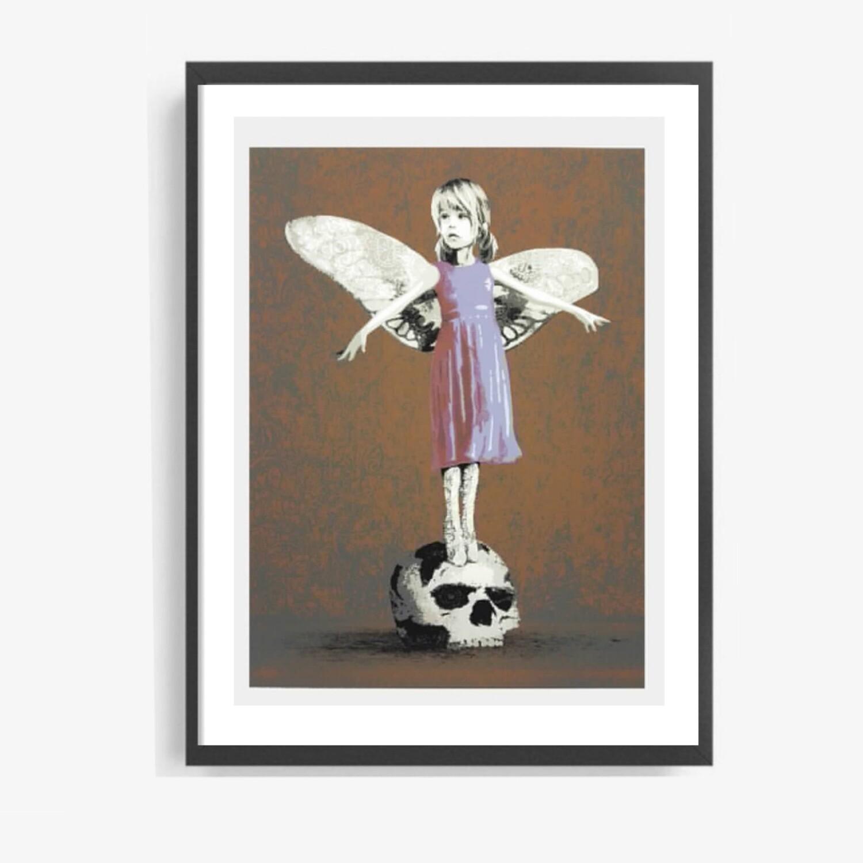 """AFK - """"STOLEN CHILD"""" Copper Ed. Framed"""