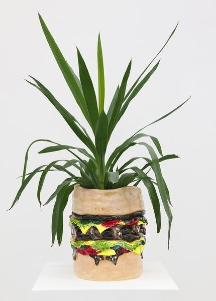 Caroline Larsen Burger Planter