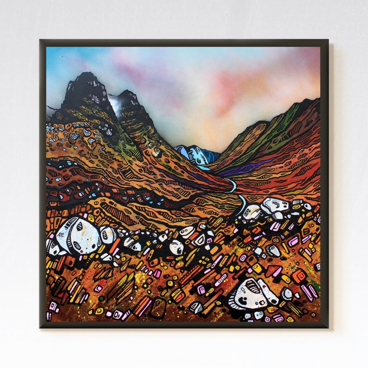 Elements Of Glencoe, The Three Sisters, Highland, Scotland - A landscape