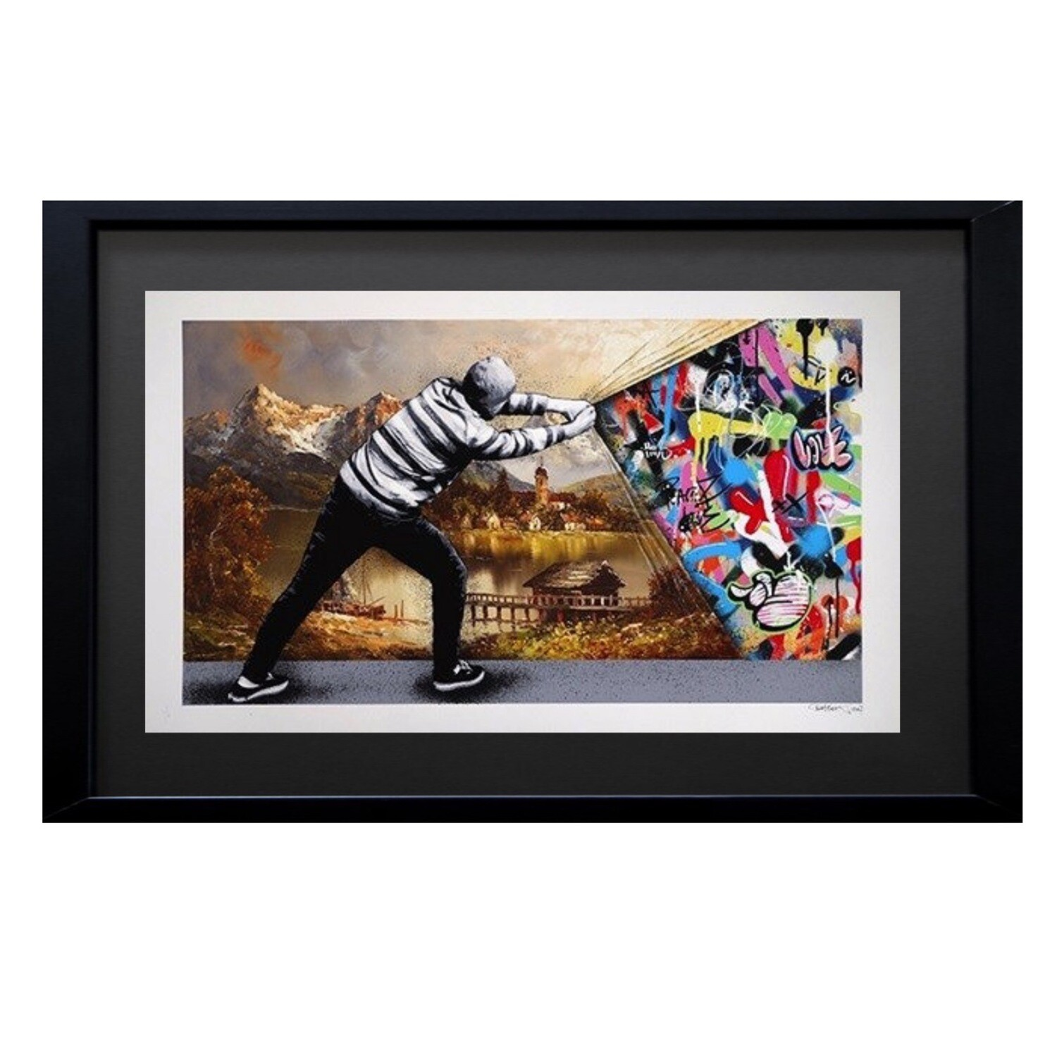 "Martin Whatson ""Behind The Curtain"""