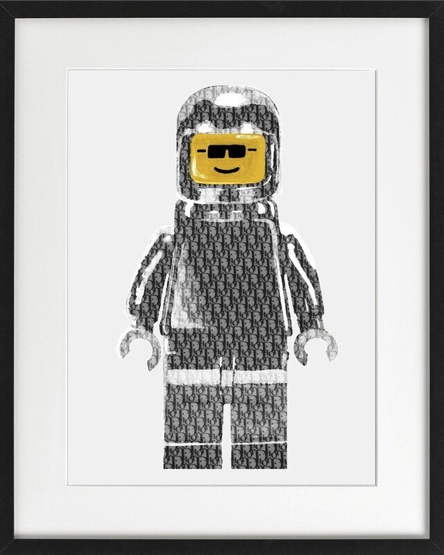 DIOR LEGO MAN - Pop Art