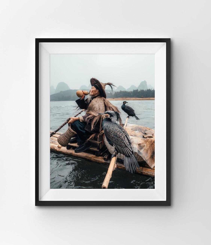 Cormorant Fisherman of Yangshuo