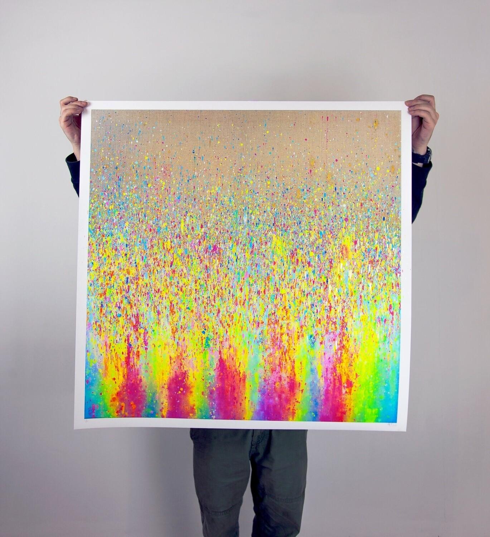 "Art Print "" City Of God"""