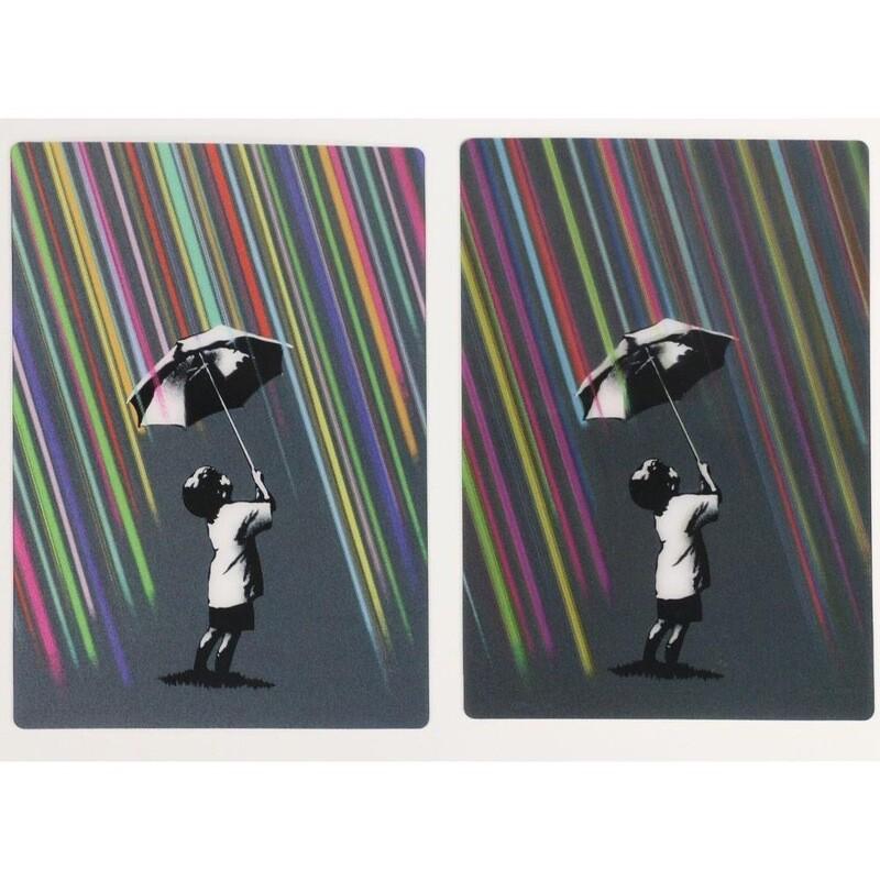 Streetartist Eelus Postcard Set
