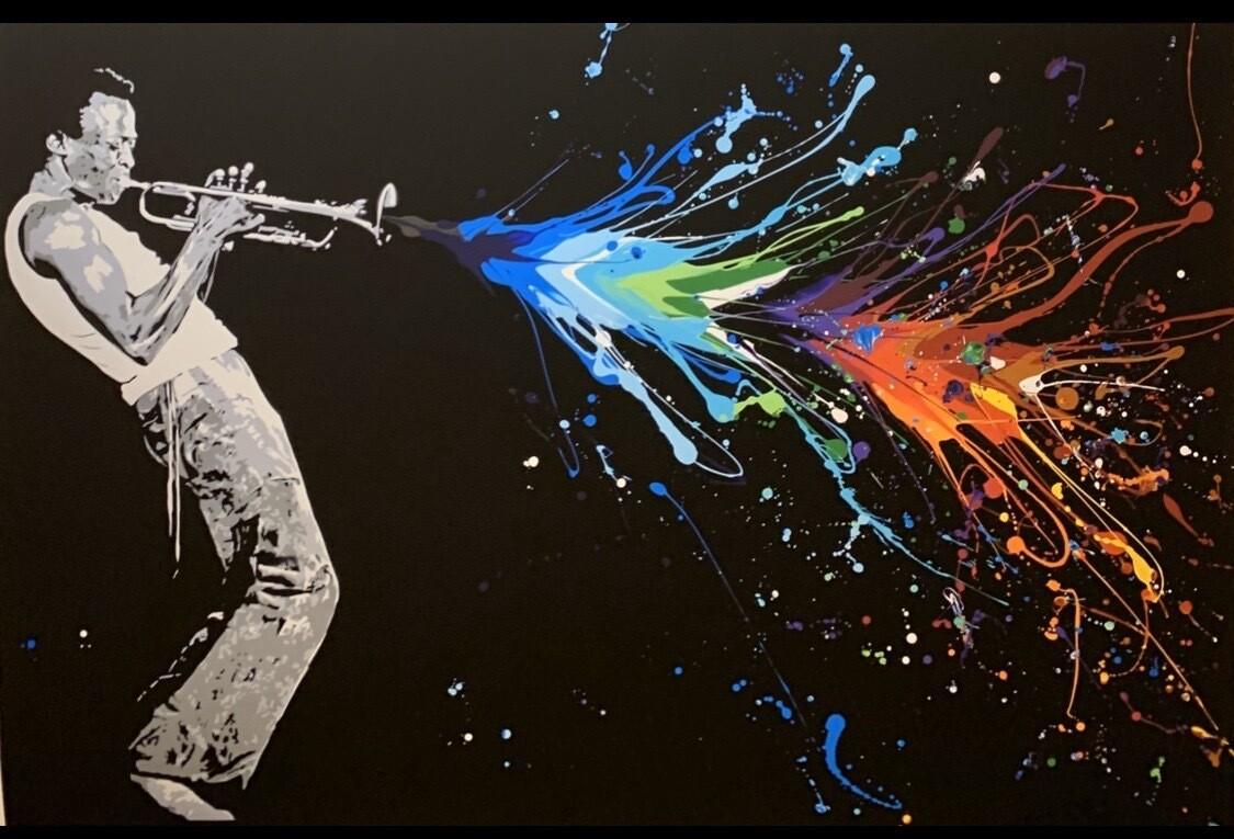 """Bjor Grønner """"Miles Davis"""""""