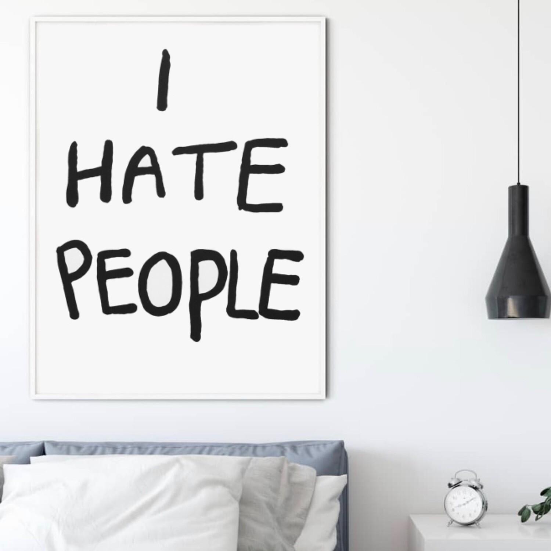 I Hate People - Bjarne M