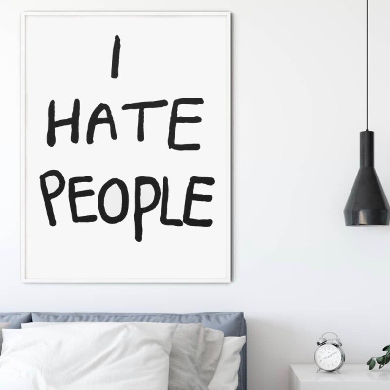 I Hate People - Bjarne M