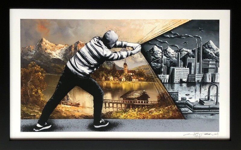 MARTIN WHATSON & PEZ – BEHIND THE CURTAIN COLLAB –