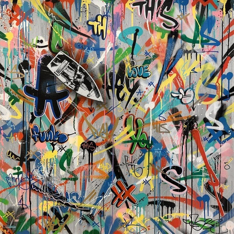 THE ROW BOAT ORIGINAL MARTIN WHATSON PAINTING