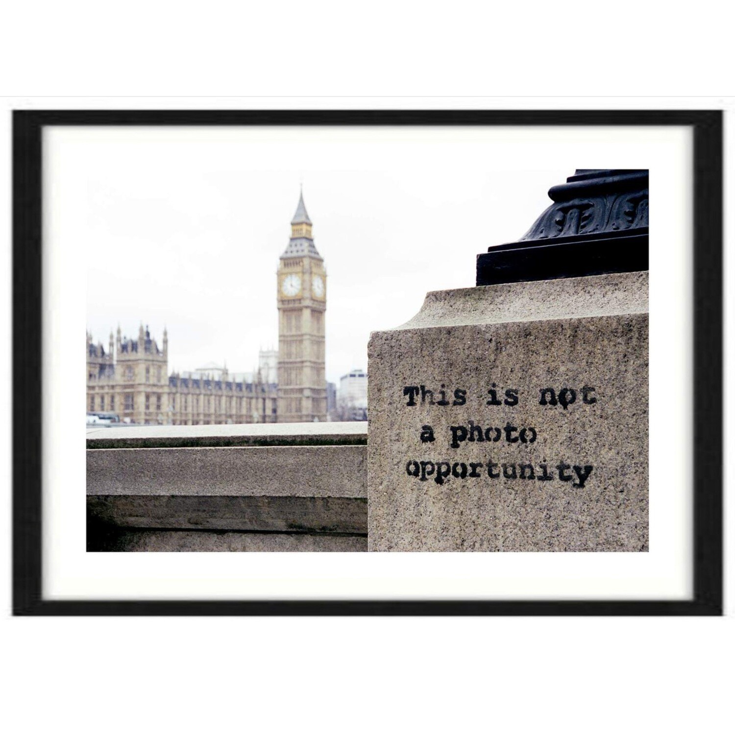 This Is Not A Photo Opportunity / Banksy / Steve