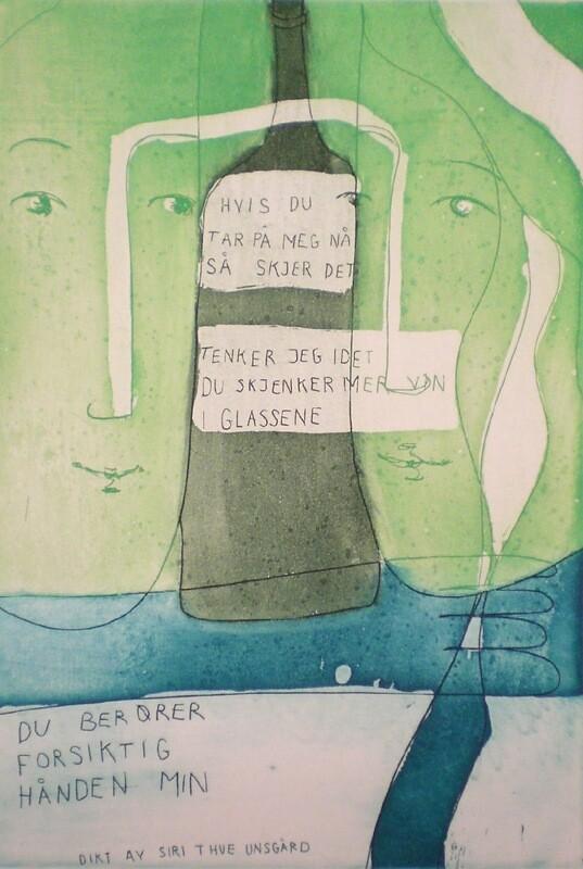 Hvis Du Tar På Meg Nå - Kunsttrykk - Gratis Frakt