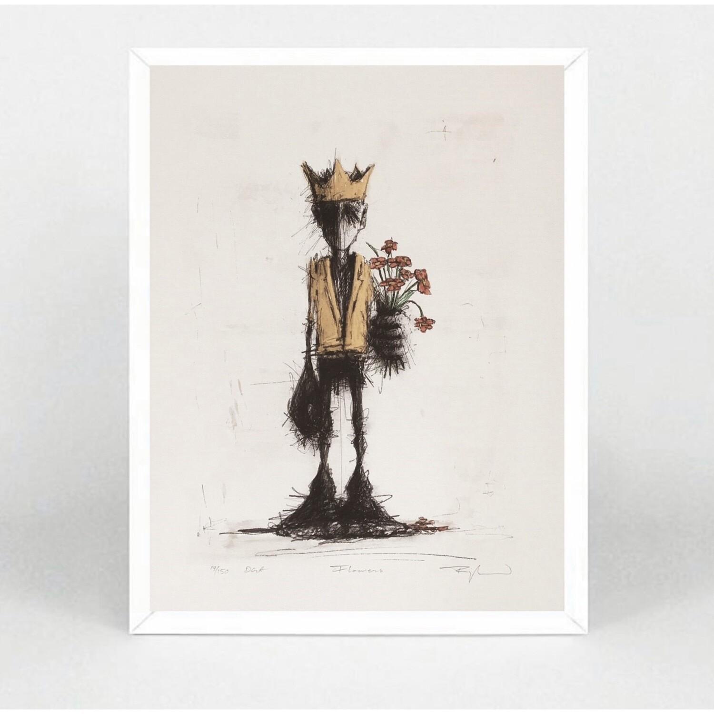 "Orion Righard "" Flowers "" Art Print"