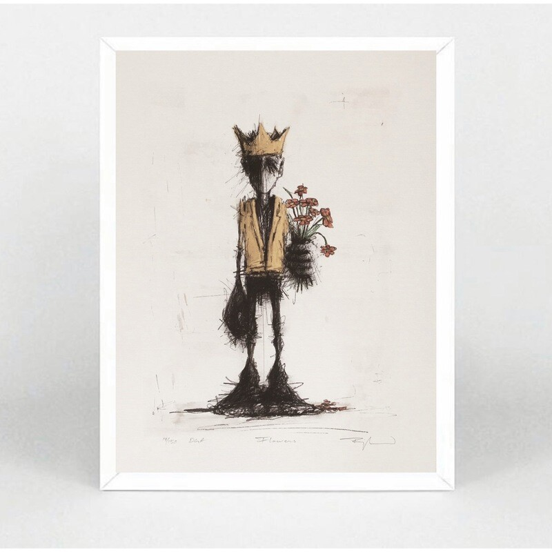 "Orion Righard "" Flowers "" Art Print"