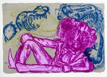 Bjarne Melgaard - Pink Panter