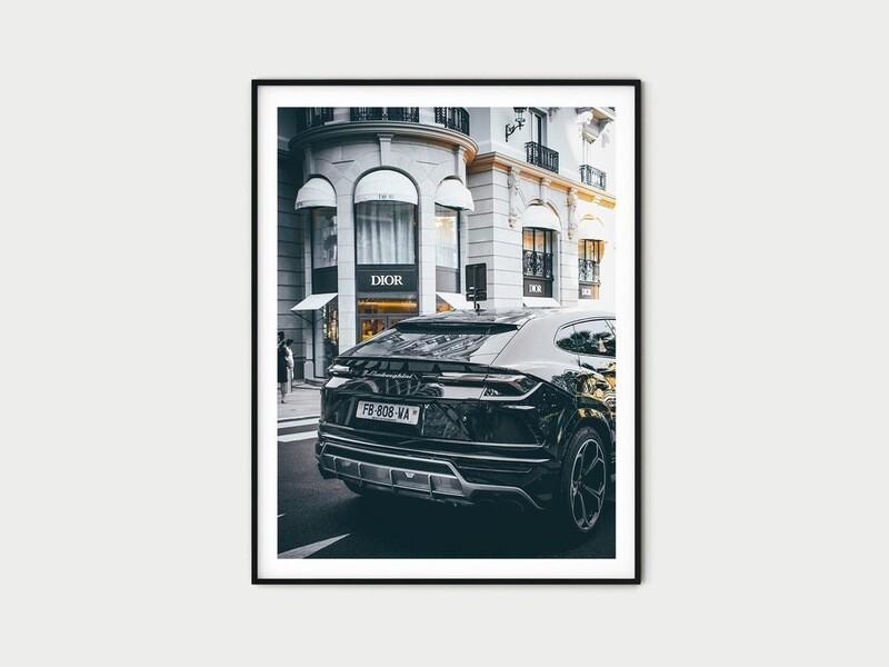 Dior Store Lamborghini