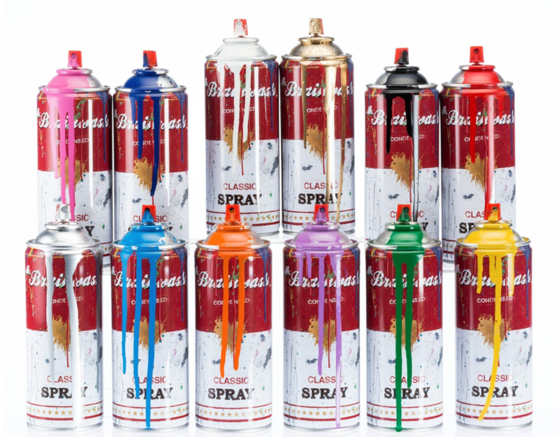 Spray Cans (Set of twelve), 2013