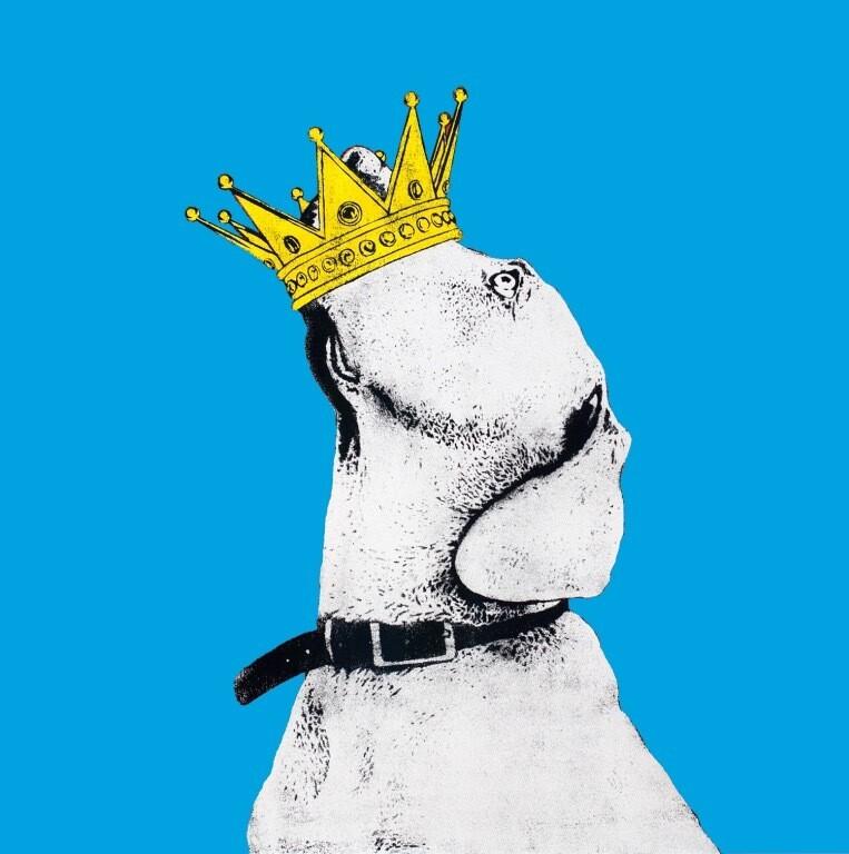 Crown (blue) av Dolk