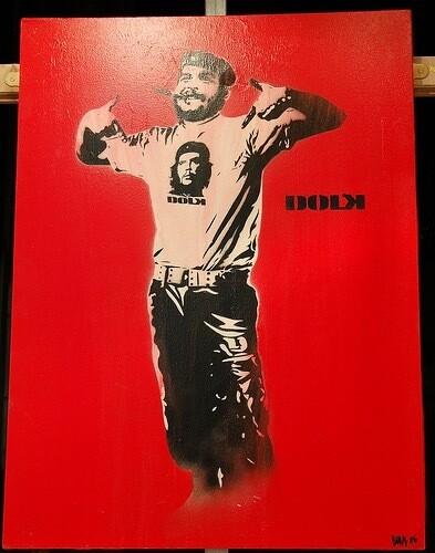"""DOLK """" Che """" Canvas"""