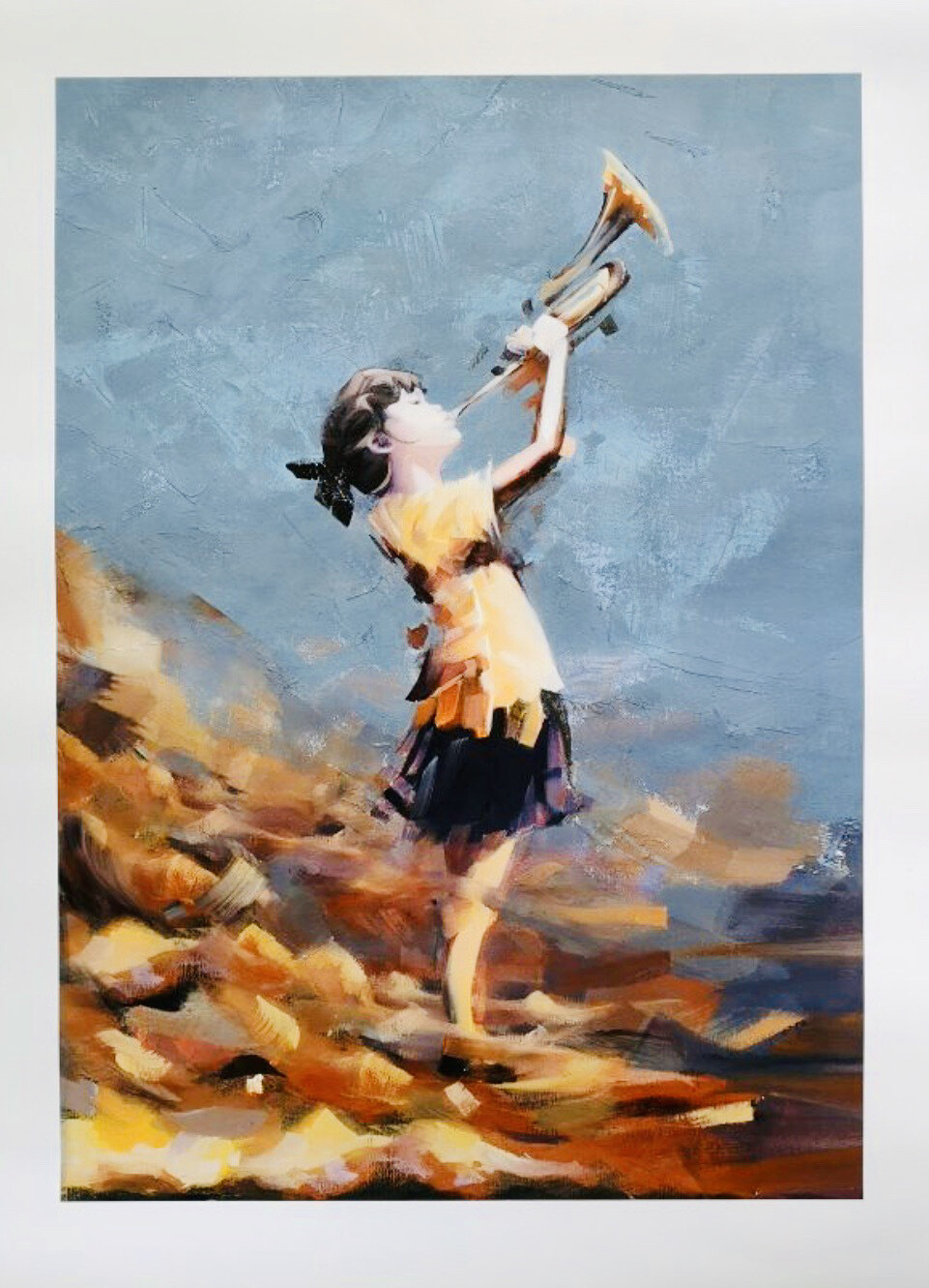 Toot - AFK - Size: 50x70cm Unframed