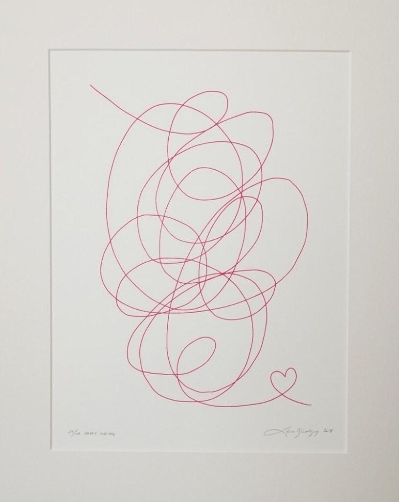 Lene Bladbjerg - 'Happy Endings Pink'
