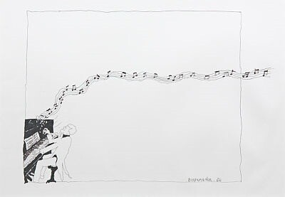 Boogie Woogie - Originalt Kunstverk - Hariton Pushwagner