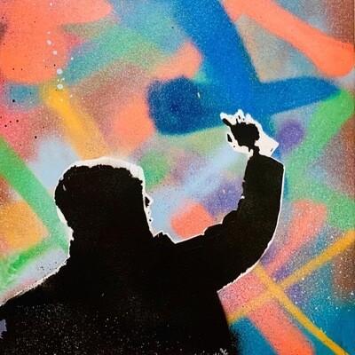 Tittel: Illegal Activities -LOVE4GRAFFITI - Kunstverk Laget Av: Aleksander Günther