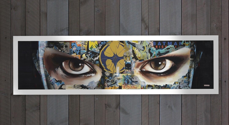 Sandra Chevrier 14 Color Serigrafie w/frame