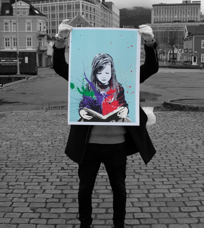 """""""Inspiration"""" - Handfinished av Bjor Grønner"""