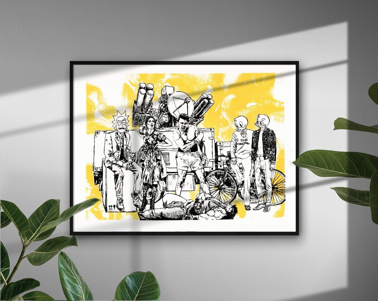 Boxing Club Art Print - Signed - Numbered To 10