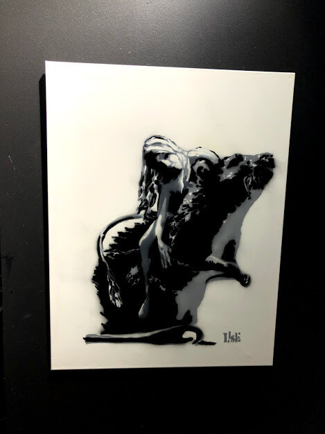 Rat (canvas) - LISE