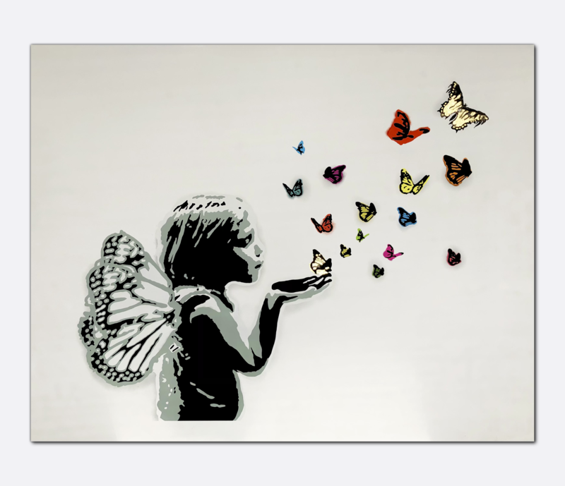 Sommerfugl i Vinterland - 24k Gold Leaf | Aleksander Günther