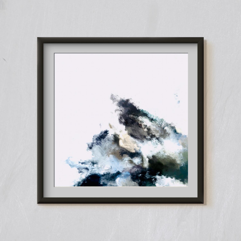 Mountain - Foggy Artwork