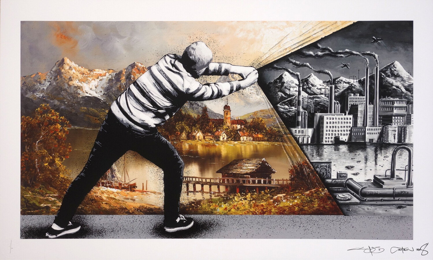 Z MARTIN WHATSON & PEZ – BEHIND THE CURTAIN COLLAB – BACK TO THE FUTURE