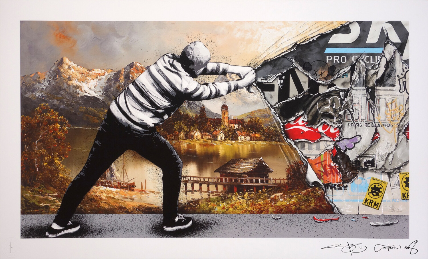 Z MARTIN WHATSON & PEZ – BEHIND THE CURTAIN COLLAB – DECAY