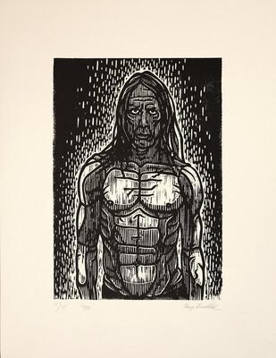 Iggy - Art Print - Lino Print