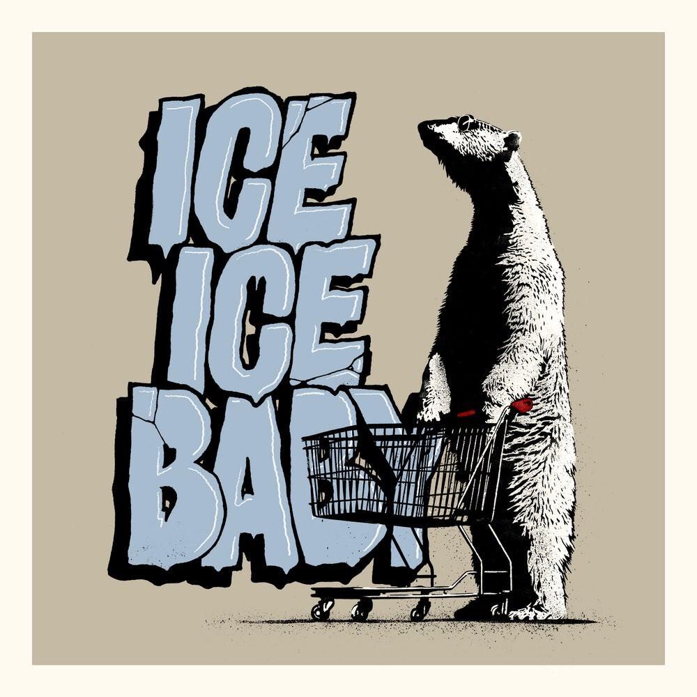 Ice Ice Baby 50x50cm Atle Østrem & Pøbel