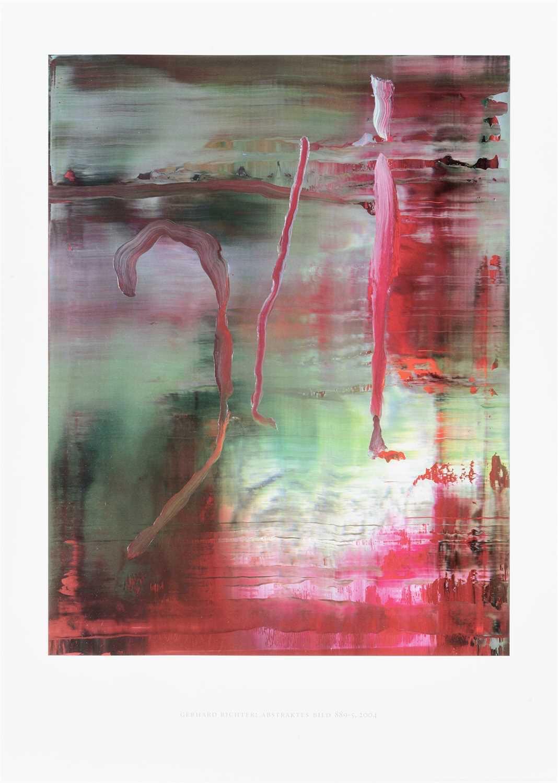 Gerhard Richter (German b.1932), 'Abstraktes Bild 889-5 (Abstract Picture)', 2004
