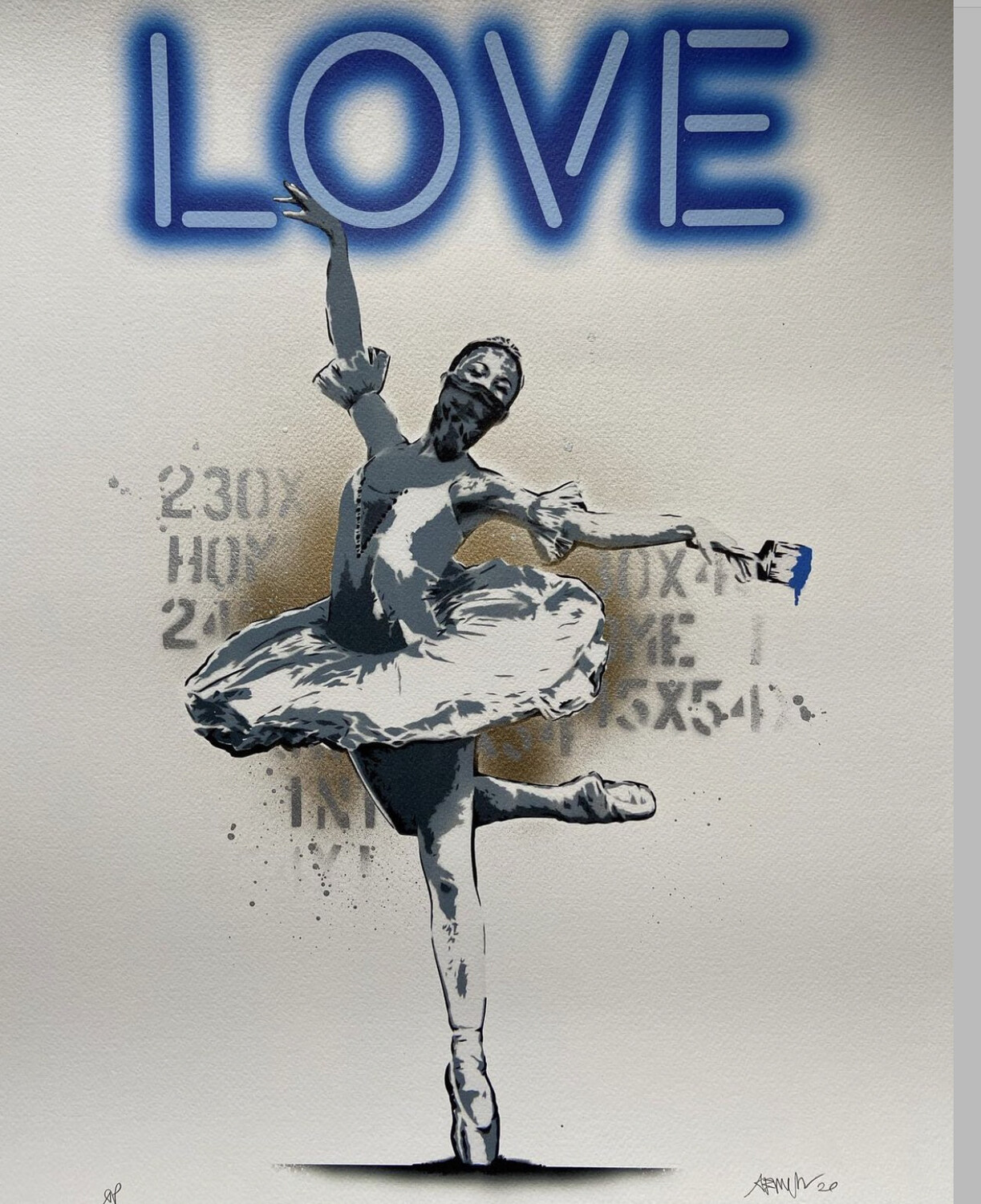 Alessio B - Dance Love - Limited Edition (artist proof) Ap Giclee