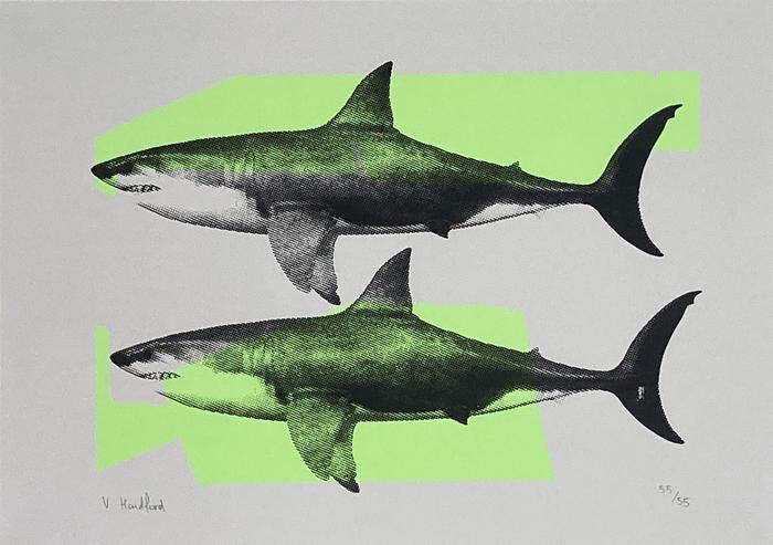 Shark Tank (Neon Green and Black)
