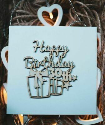 30th Happy Birthday