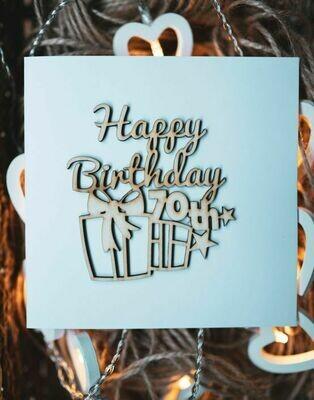 70th Happy Birthday