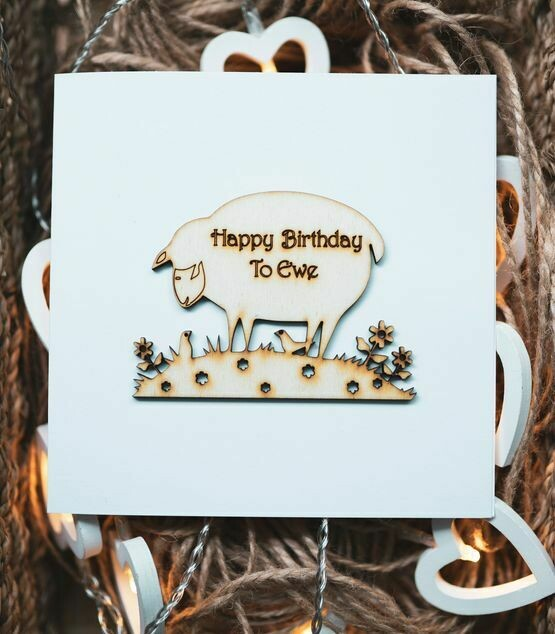 Sheep Happy Birthday to you
