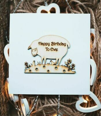 Sheep Happy Birthday to you