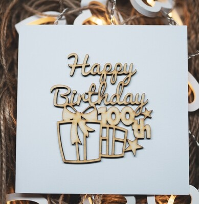 100th Happy Birthday