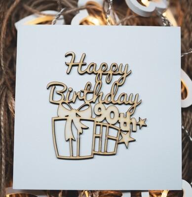 90th Happy Birthday