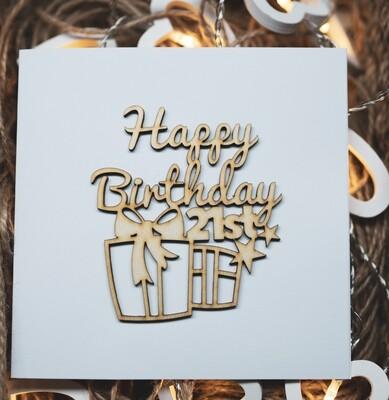 21st Happy Birthday
