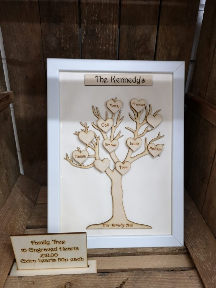 A4 Family Tree