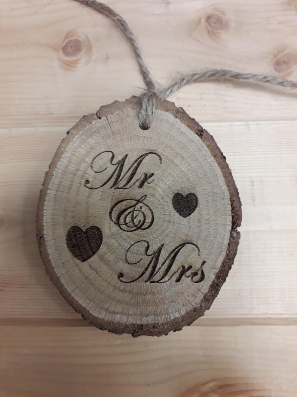 Mr & Mrs Rustic Disc