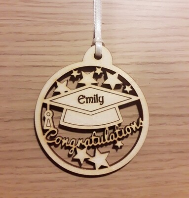 Graduation Personalised Gift Tag