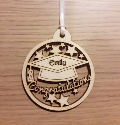 Graduation Personalised Gift Tag